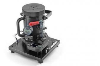 Kontrollvorrichtung für das Axialspiel am Getriebe